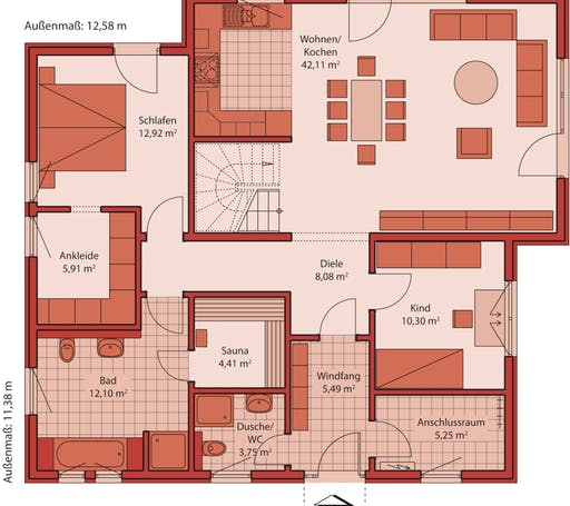 Jazz 110 PD Floorplan 1