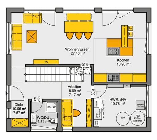Jedermann Akzent Floorplan 1