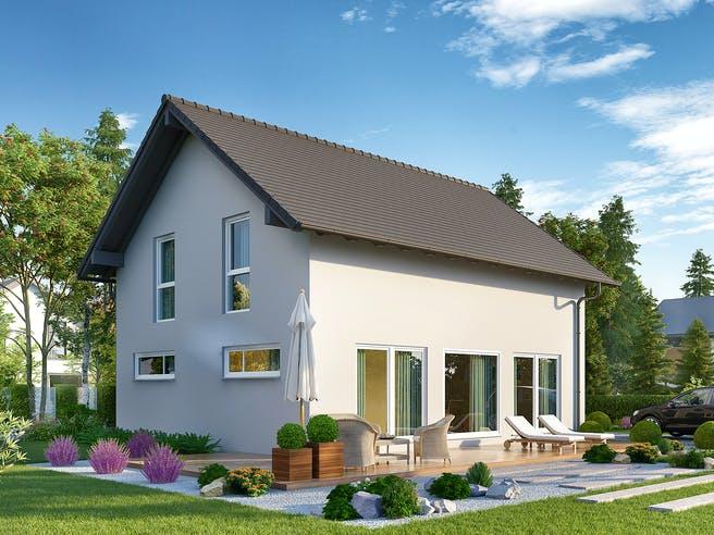 Jedermann Klassik von Büdenbender Hausbau Außenansicht 1