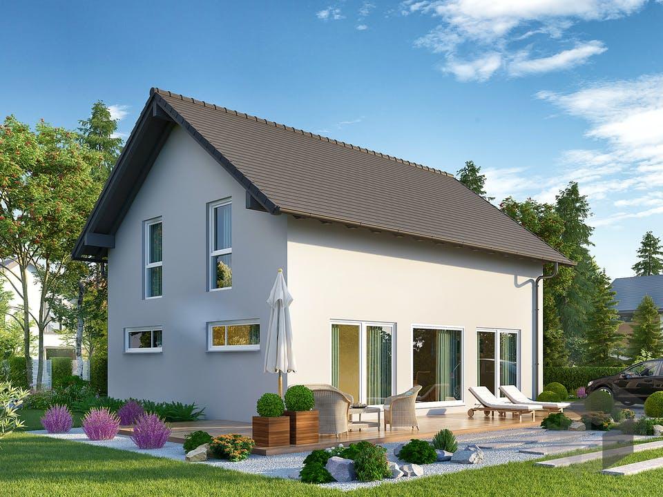 Jedermann Klassik von Büdenbender Hausbau Außenansicht