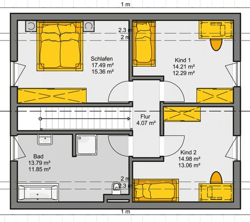 Jedermann Klassik Floorplan 2