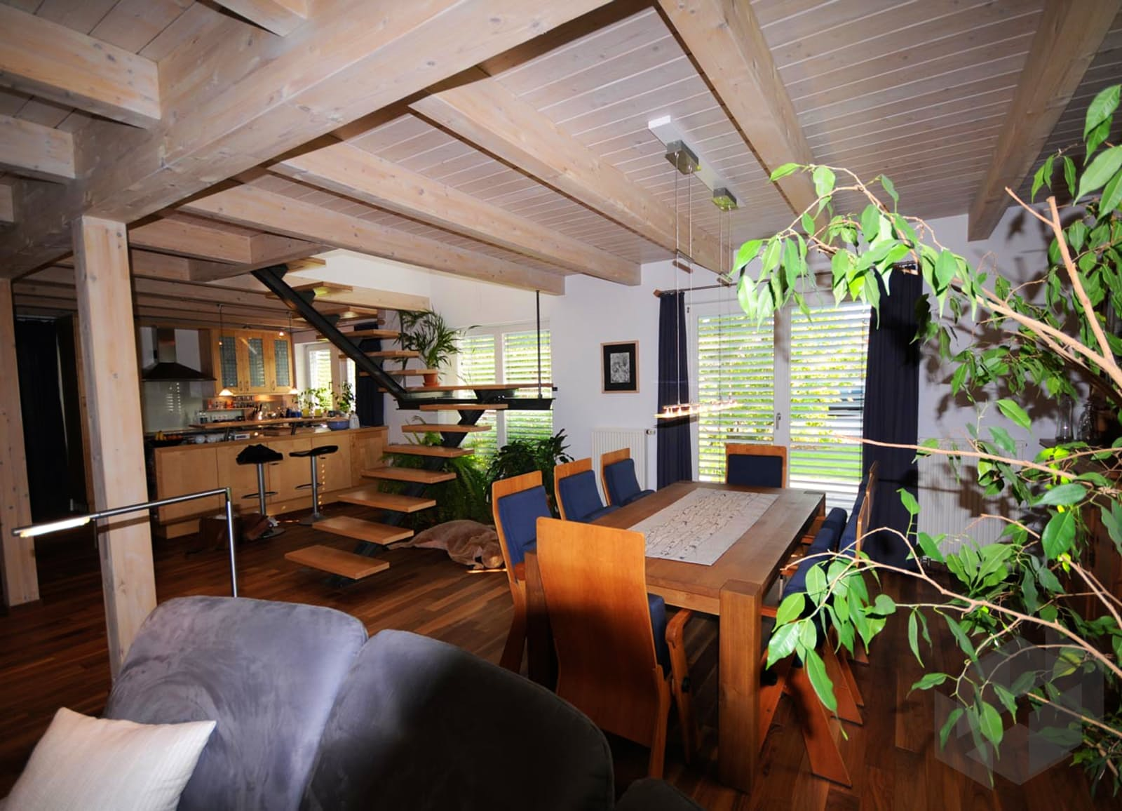 julia 2 kfw effizienzhaus 40 von dammann haus komplette daten bersicht. Black Bedroom Furniture Sets. Home Design Ideas