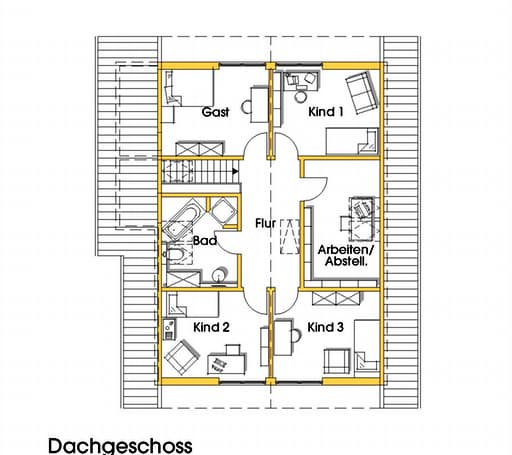 Julia 3 (KfW-Effizienzhaus 55) floor_plans 0