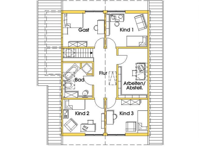 Julia 3 (KfW-Effizienzhaus 55) floor_plans 0