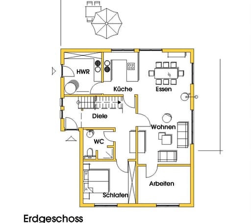 Julia 3 (KfW-Effizienzhaus 55) floor_plans 1