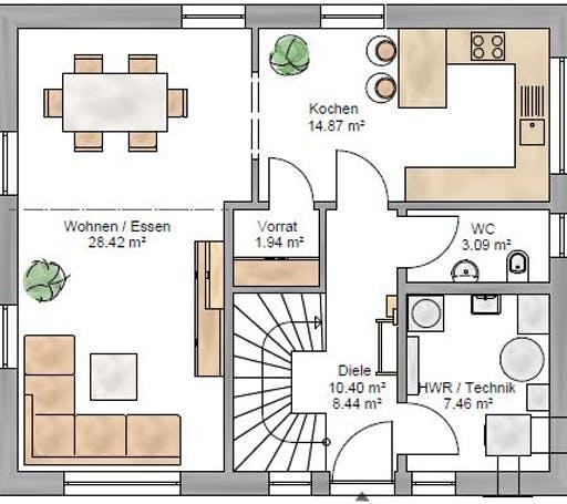 Junge Familie 127 Floorplan 1