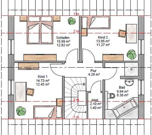 Junge Familie 127 Floorplan 2