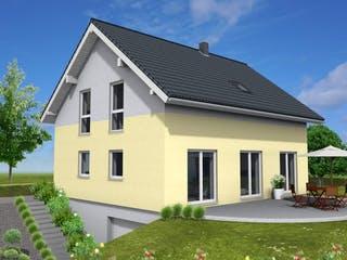 Junge Familie 146 von Suckfüll - Unser Energiesparhaus Außenansicht 1