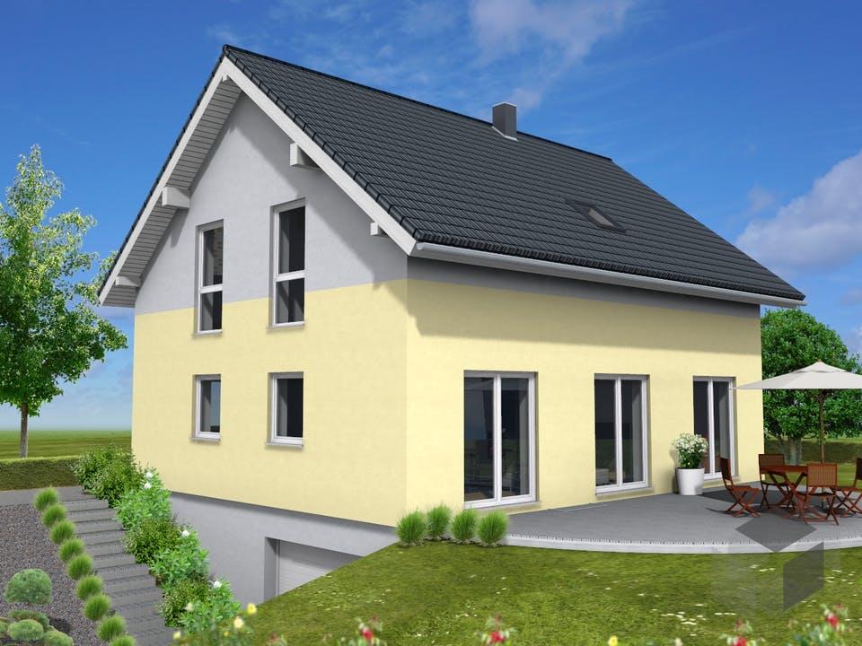 Junge Familie 146 von Suckfüll - Unser Energiesparhaus Außenansicht