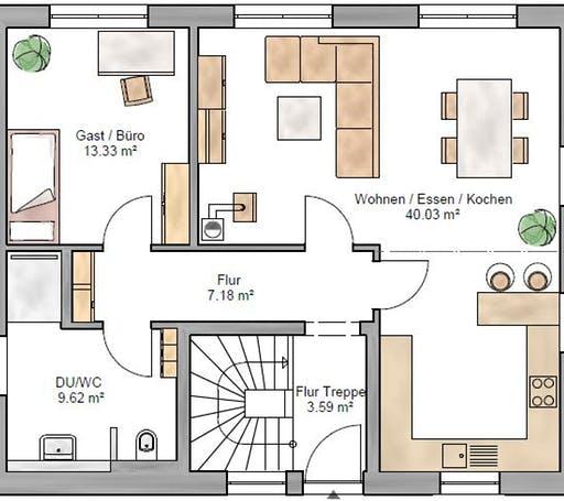 Junge Familie 146 Floorplan 1