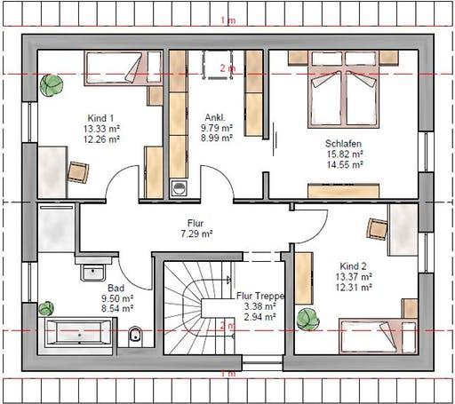 Junge Familie 146 Floorplan 2