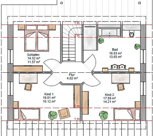 Junge Familie 148 Floorplan 2