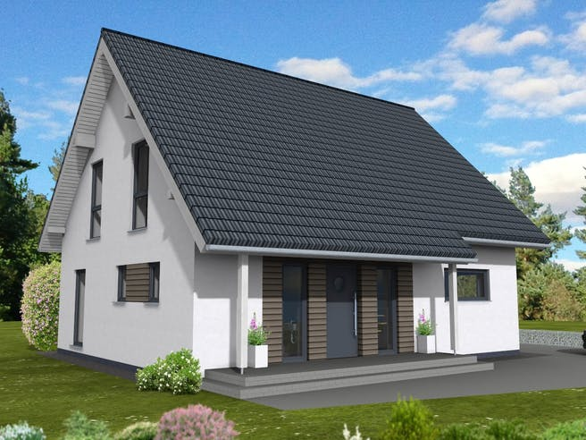 Junge Familie 149 von Suckfüll - Unser Energiesparhaus Außenansicht 1