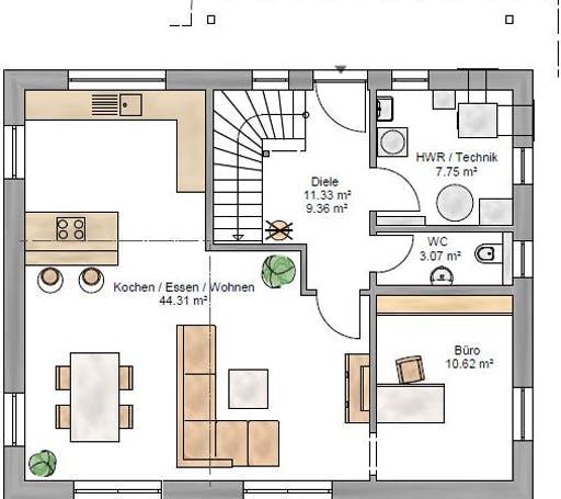 Junge Familie 149 Floorplan 1