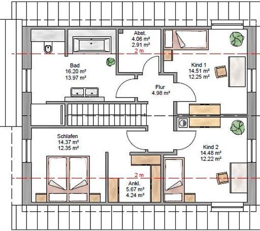 Junge Familie 153 Floorplan 2