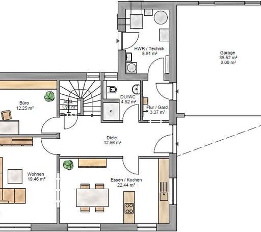 Junge Familie 160 Floorplan 1