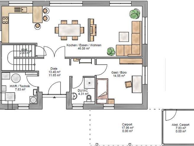 Junge Familie 174 Floorplan 1