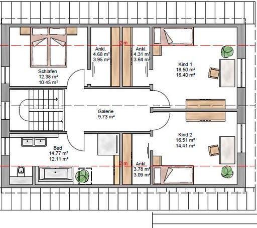 Junge Familie 174 Floorplan 2