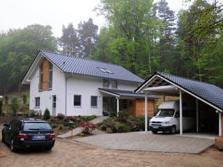 Jutta (KfW-Effizienzhaus 40) von Dammann-Haus Außenansicht 1