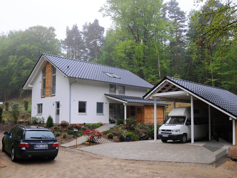 Jutta (KfW-Effizienzhaus 40) von Dammann-Haus Außenansicht