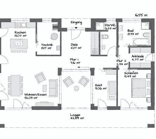 Kampa Claron 2.1150 Floorplan 1