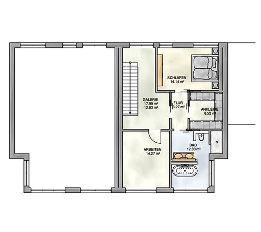 Kampa - Doppelhaus PD Floorplan 2