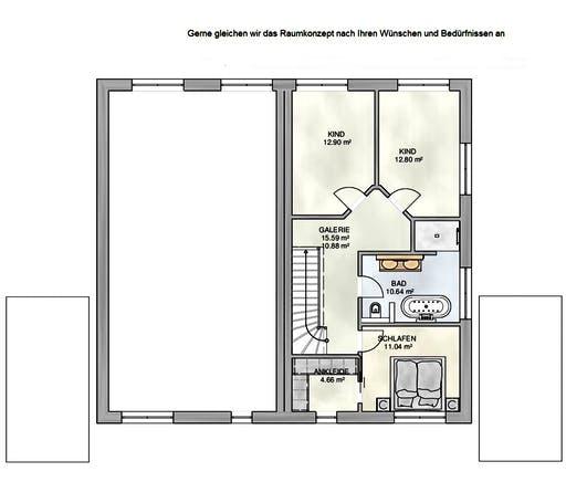 Kampa - DH Satteldach Floorplan 2