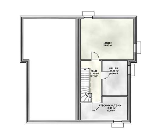 Kampa - DH Satteldach Floorplan 4