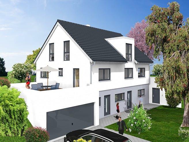Einfamilienhaus mit Einliegerwohnung - Hanglage von KAMPA Außenansicht 1