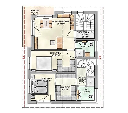 Kampa -  Mehrgenerationenhaus Floorplan 2