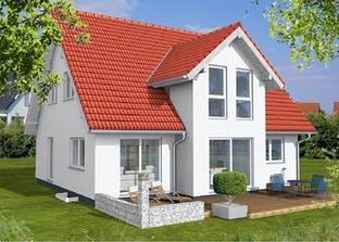 Einfamilienhaus mit Querhaus