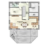 Einfamilienhaus Walmdach Grundriss