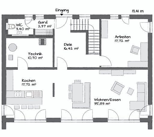 Kampa Kubos 1.2000 Floorplan 1
