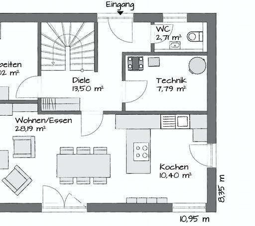 Kampa Lanos 1.1440 Floorplan 1