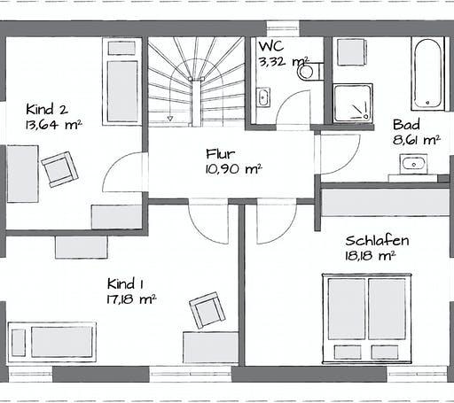 Kampa Lanos 1.1440 Floorplan 2