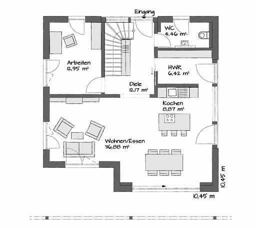 Kampa Magos 2.1570 Floorplan 1