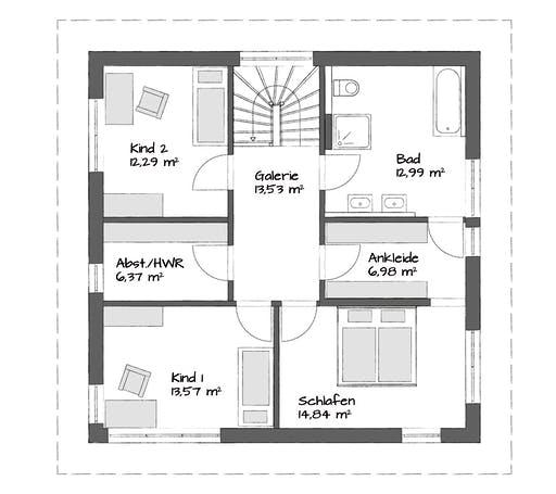 Kampa Setros 1.1621 Floorplan 2