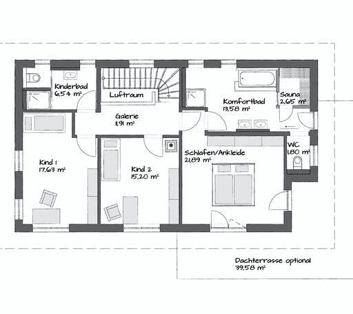 Kampa Setros 3.2140 Floorplan 2