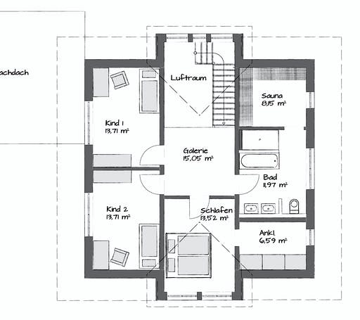 Kampa Tritos 1.1730 Floorplan 2