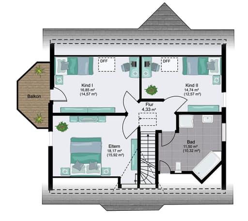 Kassel Floorplan 2