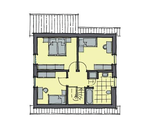 Gussek Haus - Kastanienallee Var. 1 DG
