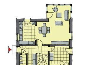 Kastanienallee KfW-Effizienzhaus 40 Grundriss