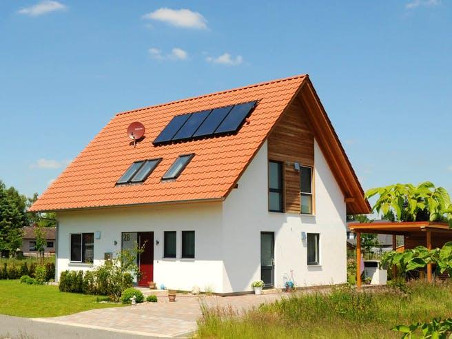 Kathrin (KfW-Effizienzhaus 40) von Dammann-Haus Außenansicht 1