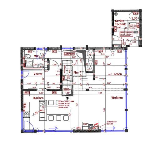 KD-Haus 130 Floorplan 1