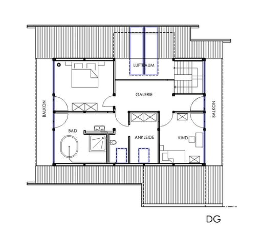 KD-Haus 196 Floorplan 2