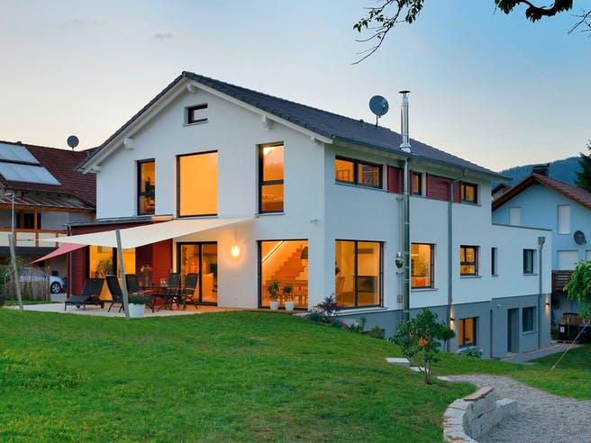 Haus Ingelfinger von Fertighaus WEISS Außenansicht 1