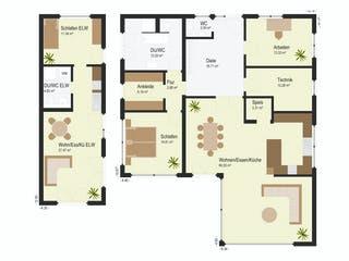 Haus Bader von Keitel-Haus Grundriss 1