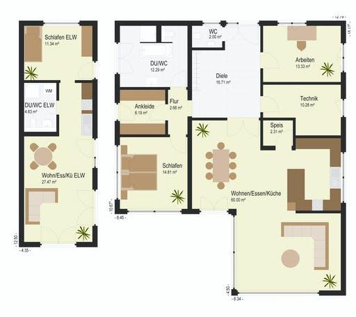 Keitel - Bader Floorplan 1