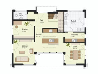 Haus Bad Vilbel von Keitel-Haus Grundriss 1