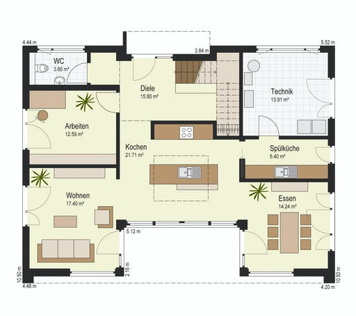 Keitel - Bad Vilbel Floorplan 1